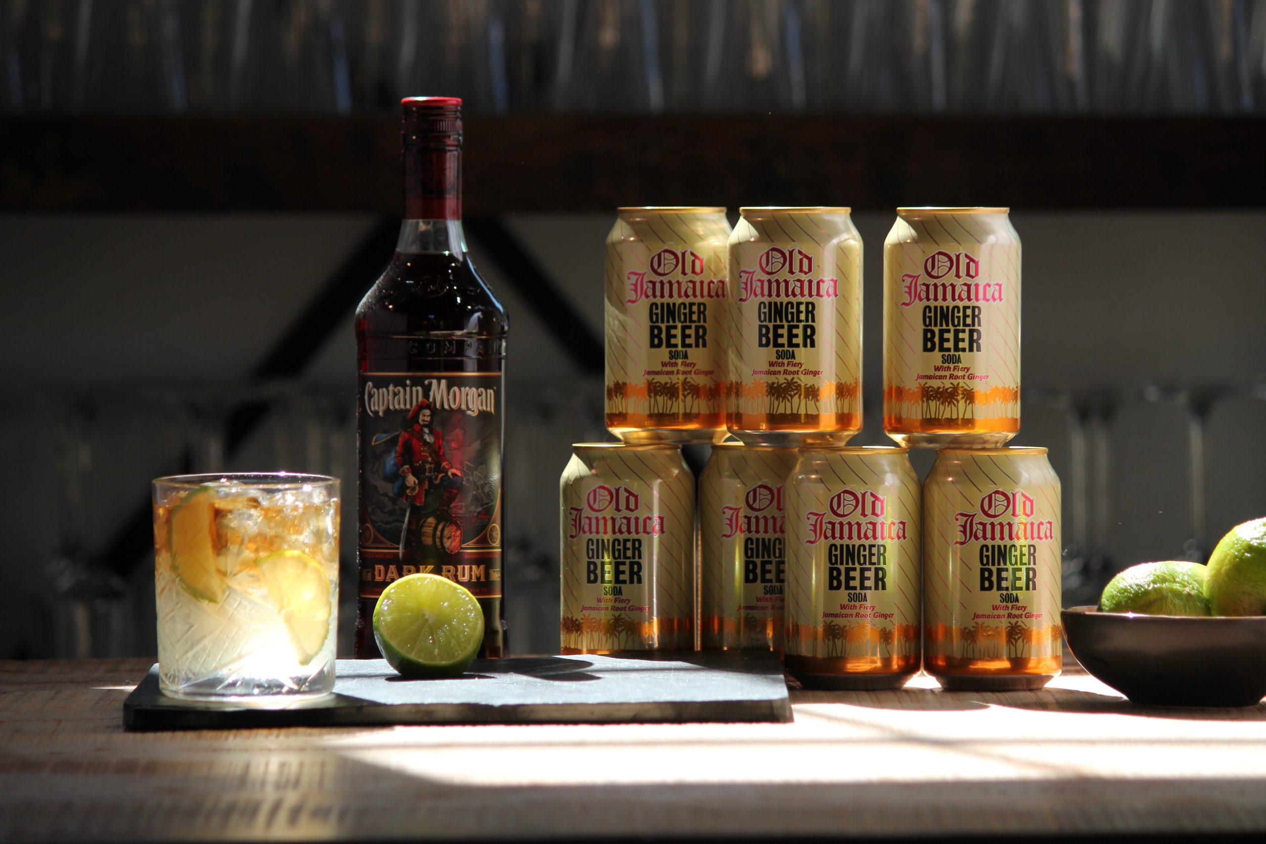 Dark 'n stormy recept cocktail